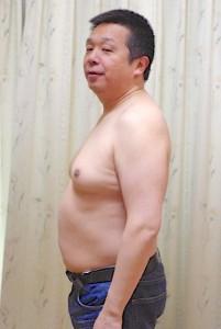 むくんでいるわけではありません、太っているだけです「92kg」