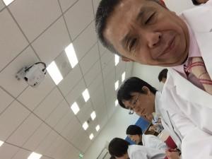 井上貴文 先生と一緒